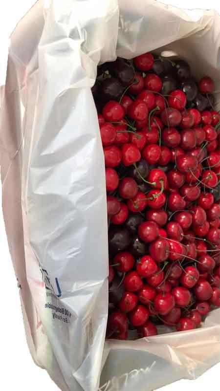 Cherries Fresh Product Packaging