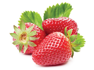 Strawberries Fresh Product Packaging