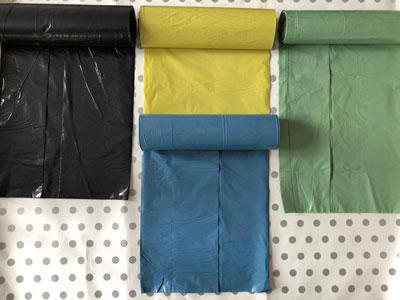 Flexible Packaging Garbage Bags