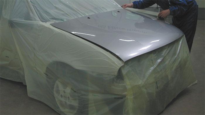 Automotive Service Products Promask Masking Sheeting