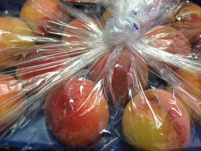 Peaches Fresh Product Packaging