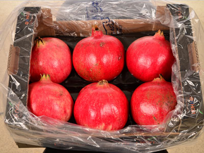 Pomegranates Fresh Product Packaging