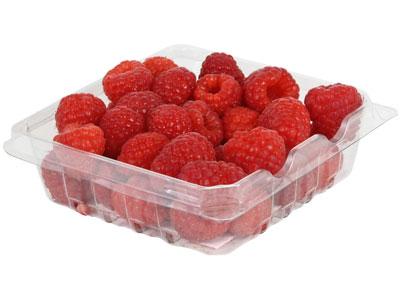 Raspberries Fresh Product Packaging